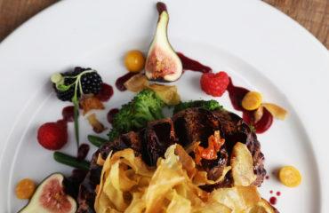 Ostrich, Burgundy Restaurant