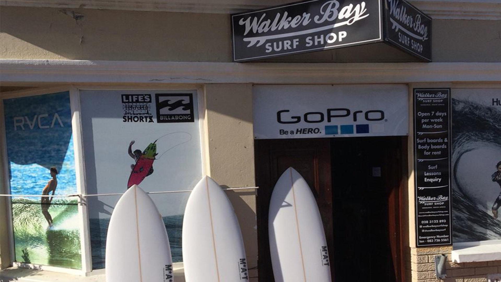 Walkerbay Surf Shop